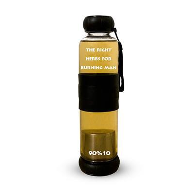 בקבוק הקעקוע לחליטות צמחי מרפא