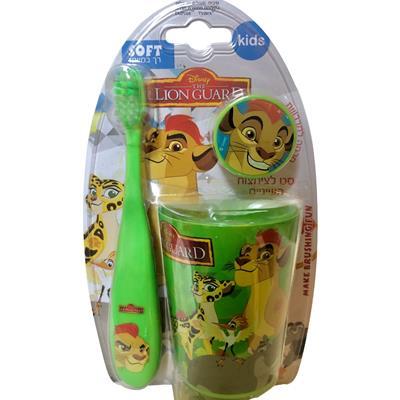 מברשת שיניים מלך האריות