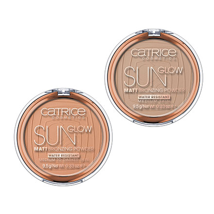 פודרה משזפת - Sun Glow Matt Bronzing Powder