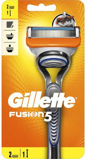 מכשיר גילוח + 2 סכינים גילט פיוזן 5