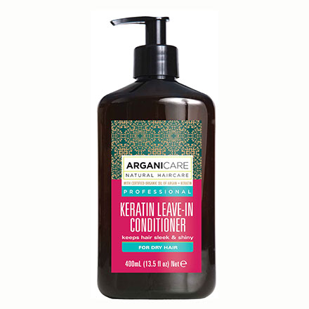 Keratin leave in Conditioner, for DRY hair