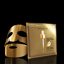 The Gold Mask - Single מסיכה בודדת זהב למראה עור צעיר