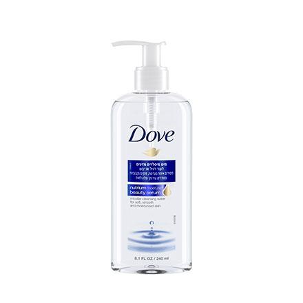 דאב מים מיסלרים מזינים לעור רגיל או יבש