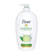 אלסבון שטיפת ידיים מלפפון ותה ירוק דאב
