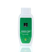 Green Tea Shower Scrub פילינג גוף עם גרגירים גסים