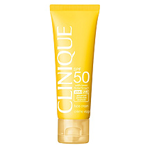 Clinique Sun SPF 50 Sunscreen Face Cream- הגנה מהשמש לפנים