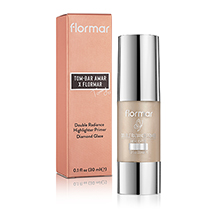 Flormar X Miss Tommy - Diamond Glaze Highlighter Primer היילייטר נוזלי