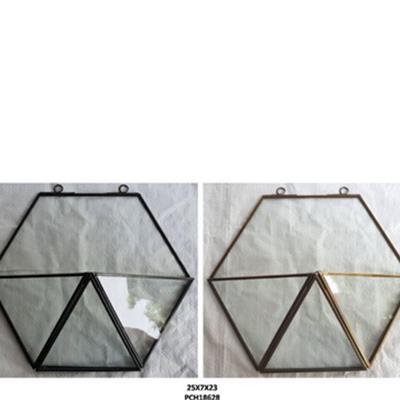 דקורציה לקיר זכוכית קטן 25X7X23