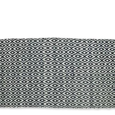 שטיח כותנה יהלום
