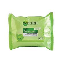 מגבונים להסרת איפור Essentials לעור רגיל/מעורב
