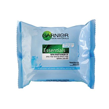 מגבונים להסרת איפור Essentials לעור רגיש