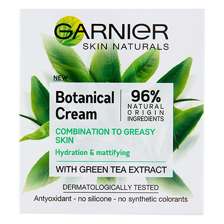 קרם לחות תה ירוק Garnier Botanical