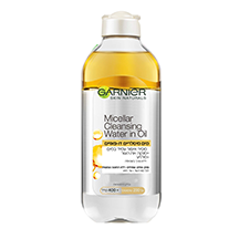 Micellar Cleansing Water In Oil-מים מיסלריים דו-פאזיים