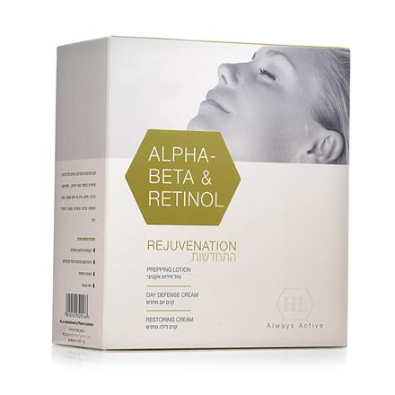 מארז התחדשות  alpha beta&retinol