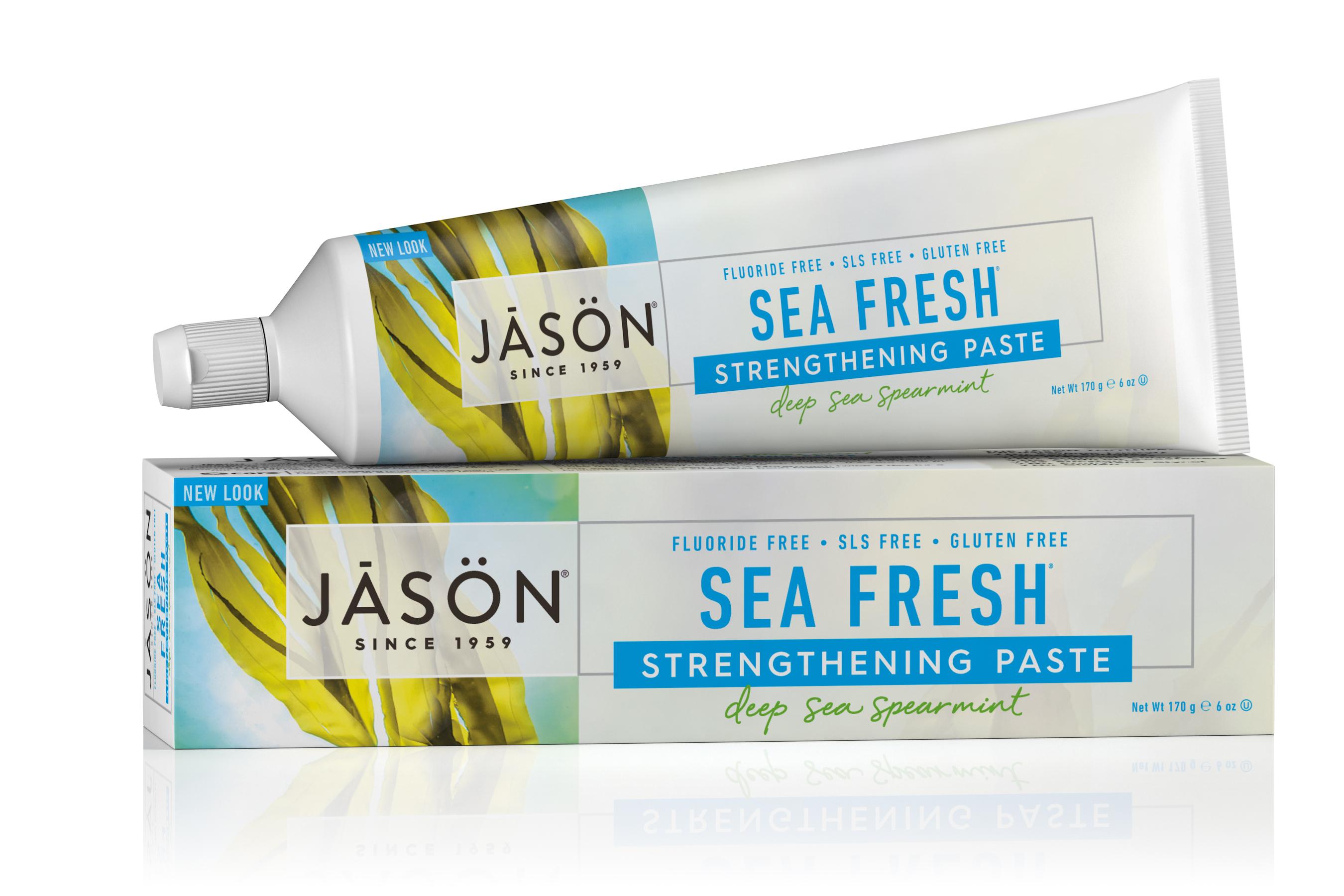 משחת שיניים בניחוח ים מרענן