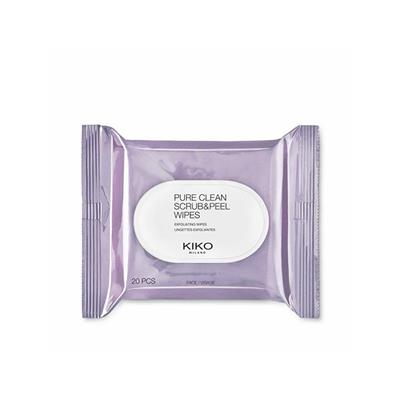 Pure Clean Scrub & Peel Wipes Exfoliating Wipes