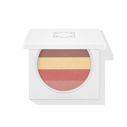 Liquid Baked Blush Stripes - Terracotta