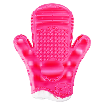 2X Sigma Spa® Brush Cleaning Glove - Pink