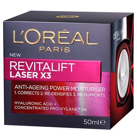 Revitalift Laser X 3 - Anti Ageing Power Moisturiser