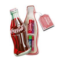 Lip Smacker בקופסת מתכתית של בקבוק קולה